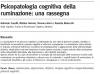 psicoterapia comportamentale e cognitiva